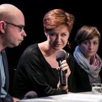 rozmowa z Anną Wakulik i Karoliną Maciejaszek | fot. Bernie Kramer