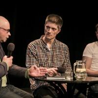 rozmowa z Robertem Urbańskim i Jackiem Bałą | fot. Bernie Kramer