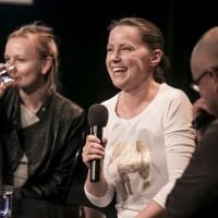 rozmowa z Marią Spiss i Ewelina Marciniak | fot. Bernie Kramer