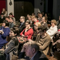rozmowa z Michałem Bajerem i Waldemarem Raźniakiem | fot. Bernie Kramer